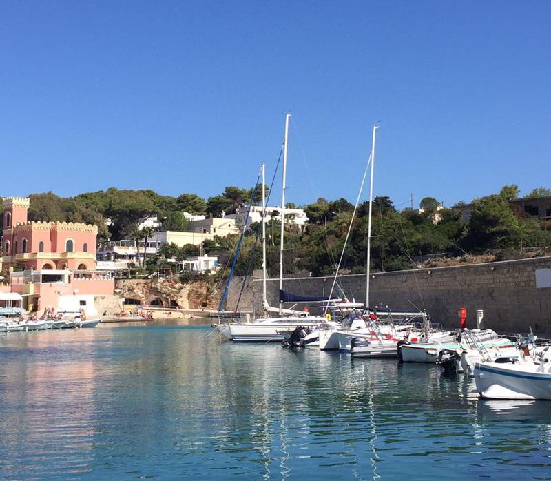 porto di tricase escursioni in barca