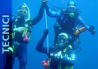 corsi tecnici per subacquei nel salento