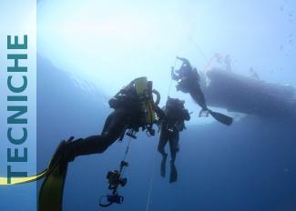 immersioni tecniche nel salento