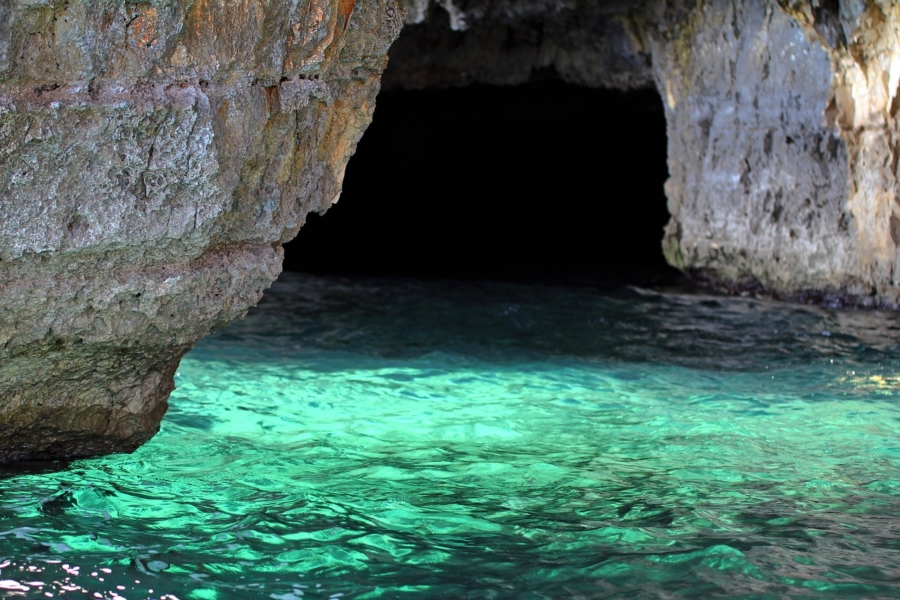 grotta verde marina di andrano